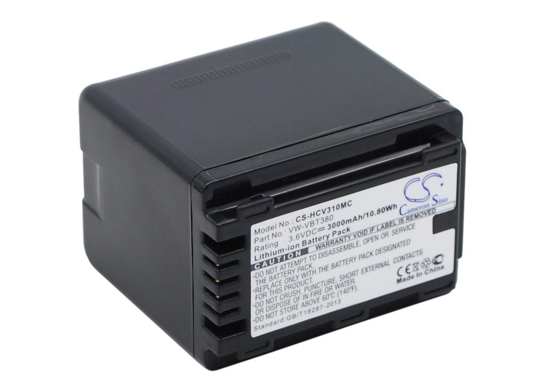 PANASONIC VW-VBT380 Compatible Battery image 0