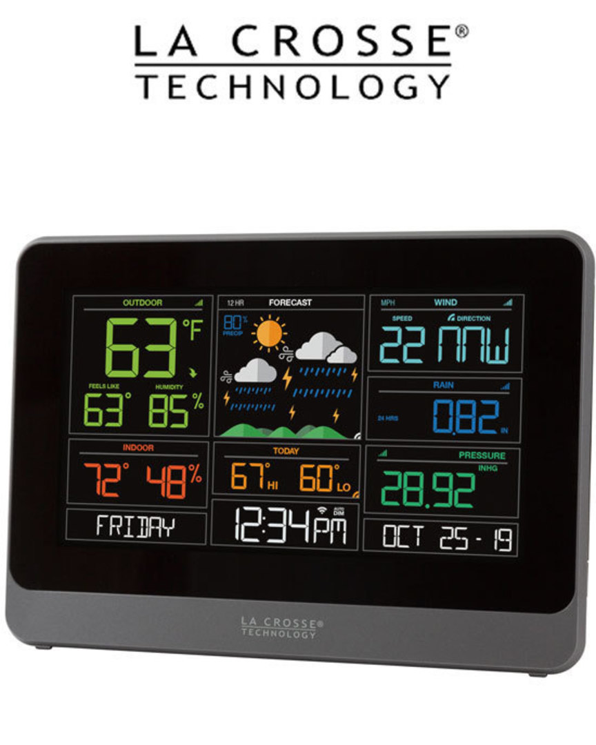 C83100 Complete Personal WIFI Weather Station AccuWeather image 1