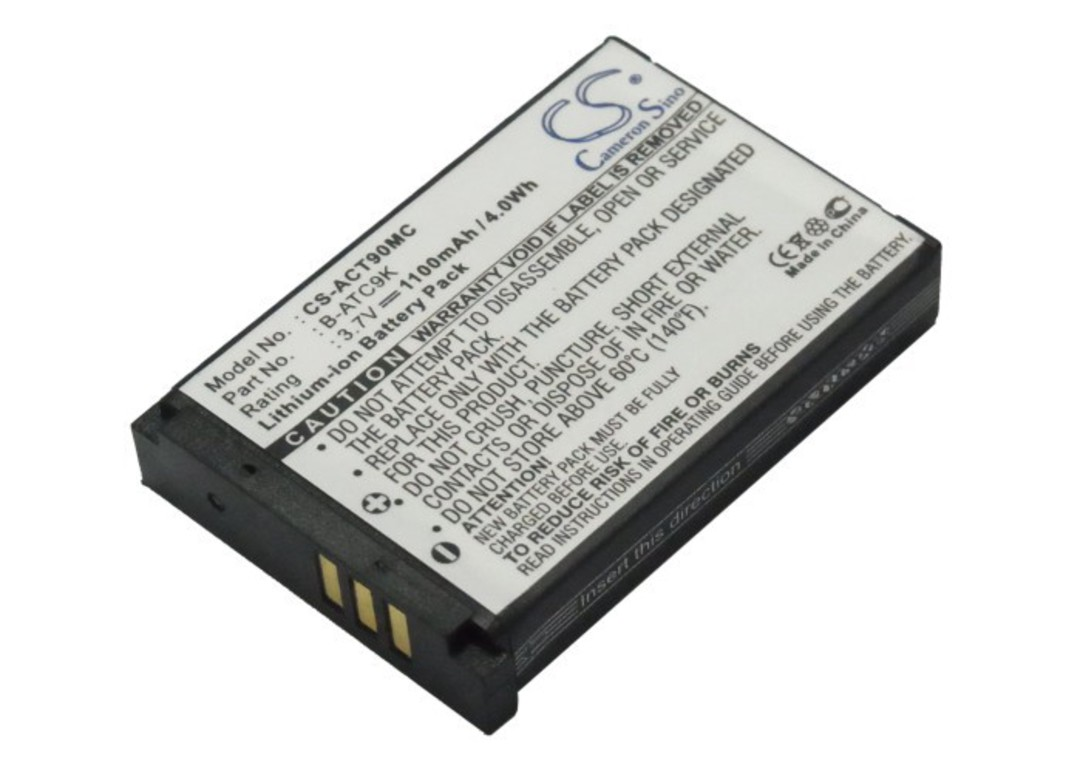 OREGON SCIENTIFIC B-ATC9K, B-ATC9K-JWP Compatible Battery image 0