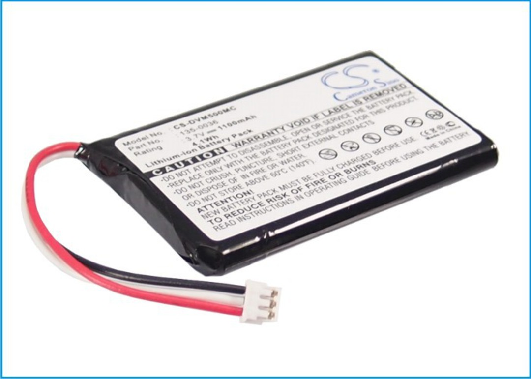 DIGITAL ALLY 135-0036 Compatible Battery image 0