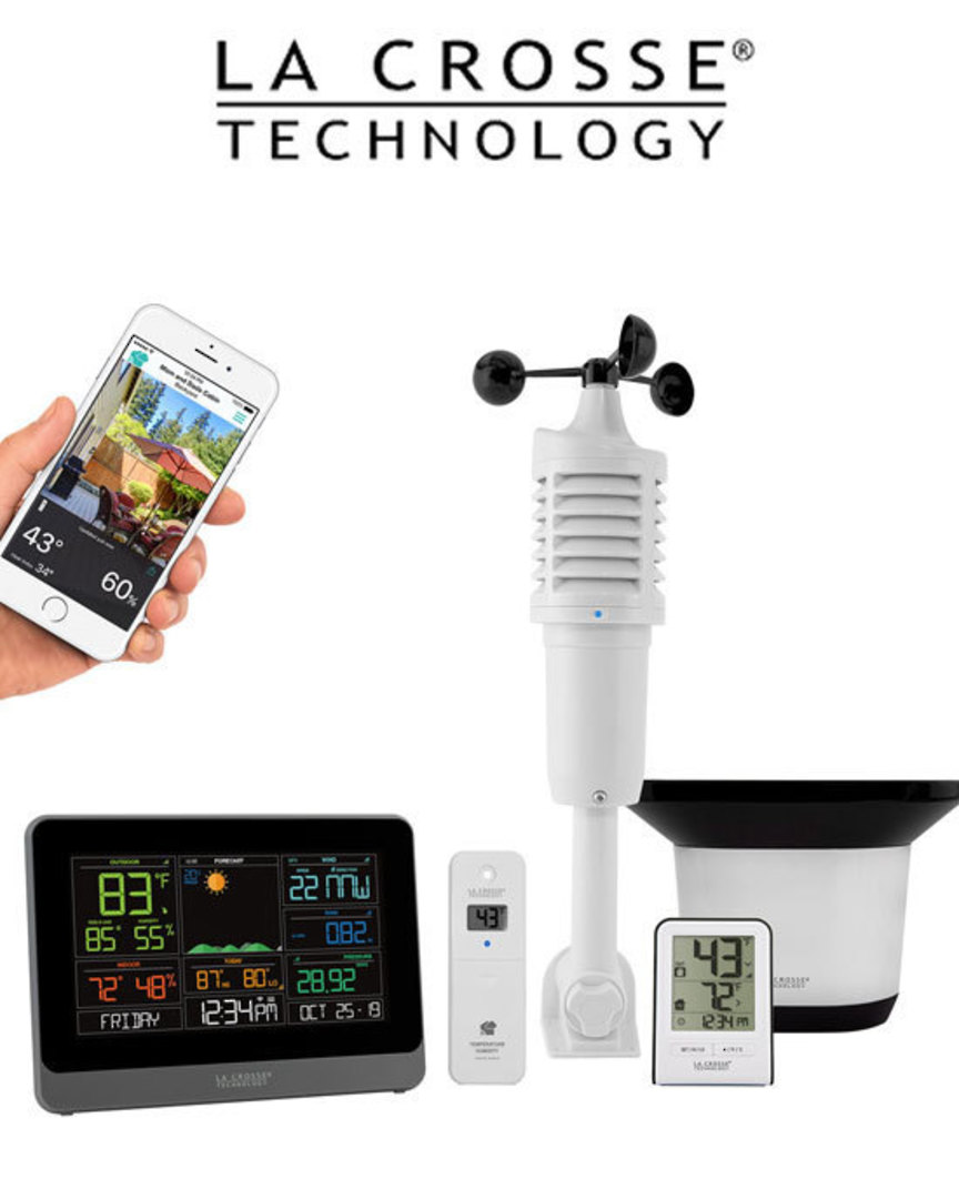 C83100 Complete Personal WIFI Weather Station AccuWeather image 0