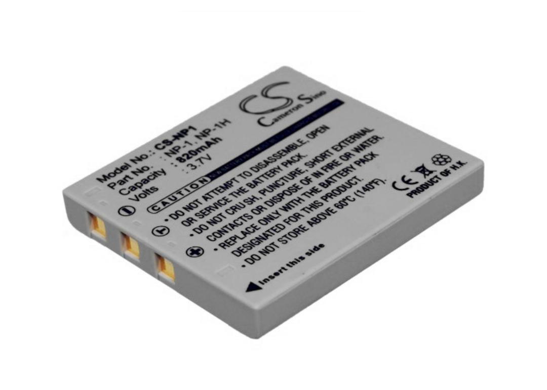 MINOLTA MBH-NP-1, NP-1, NP-1H, Dimage X1 Compatible Battery image 0