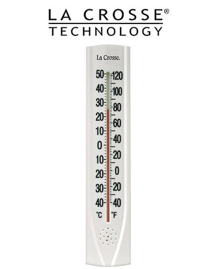 204-115 La Crosse 38cm Thermometer with Key Hider