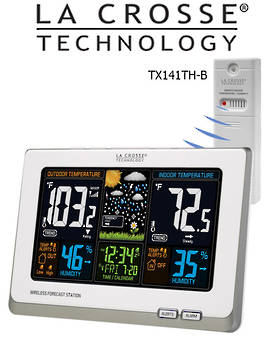 308-1414W La Crosse Wireless Colour Weather Station