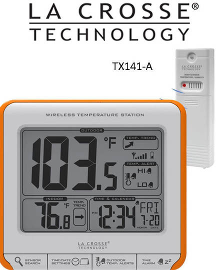 308-179OR La Crosse Wireless Thermometer