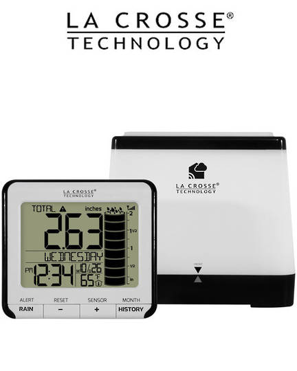 724-2310 Digital Rain Monitor with Indoor Temperature