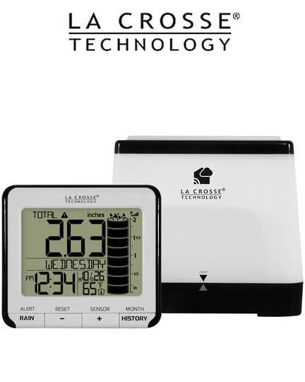 724-2310 Digital Rain Monitor with Indoor Temperature