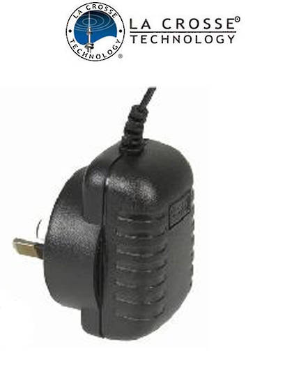 6V 150mA Power Adaptor For La Corsse WS23xx, WS3600