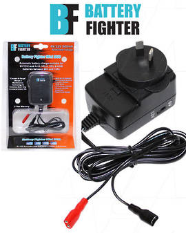 BATTERY-FIGHTER 6V 12V SLA Battery Charger