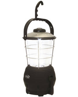 Dynamo 12 LEDs Lantern with FM Radio