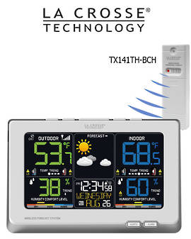 C87030 La Crosse Wireless Color Weather Station