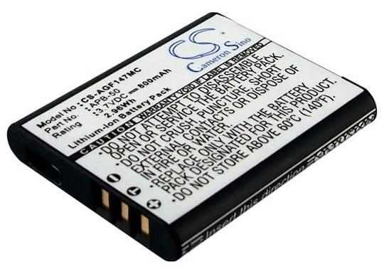 AGFA APB50 OPTIMA 147 Compatible Battery