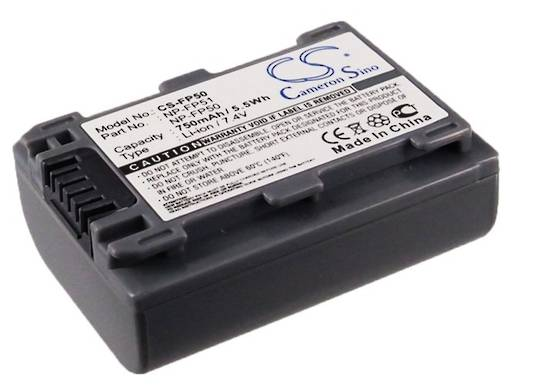 SONY NP-FP30 NP-FP50 NP-FP51 Camera Battery