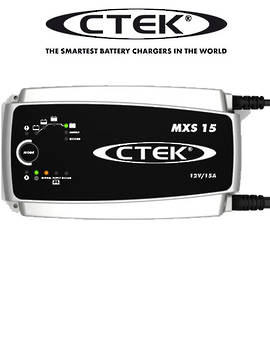 CTEK MXS 15.0 Smart 12 Volt Battery Charger