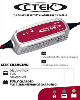 CTEK XC 0.8 6 Volt Maintenance Charger