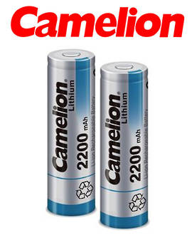 Camelion ICR 18650 2200mAh Lithium-Ion Rechargeable Batteries