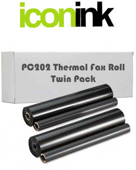 Compatible Brother PC-202RF Twin Pack Thermal Roll