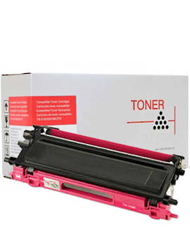 Compatible Brother TN340 Magenta Toner Cartridge