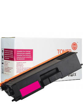 Compatible Brother TN346 Magenta Toner Cartridge