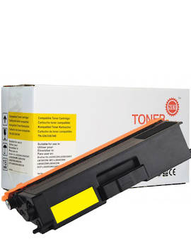 Compatible Brother TN346 Yellow Toner Cartridge