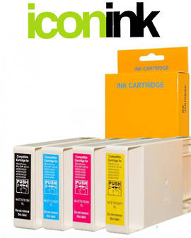 Compatible Epson 676XL Hi-Yield Ink Cartridge Set