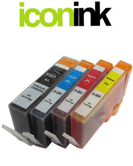 Compatible HP 564 XL High Yield Ink Cartridge Set