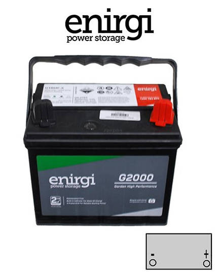 ENIRGI U1RMF 12N24-4 300CCA Lawn Mower Battery