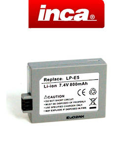 INCA CANON LP-E5 LPE5 Camera Battery
