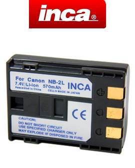 INCA CANON NB-2L NB-2LH NB2L NB2LH Camera Battery