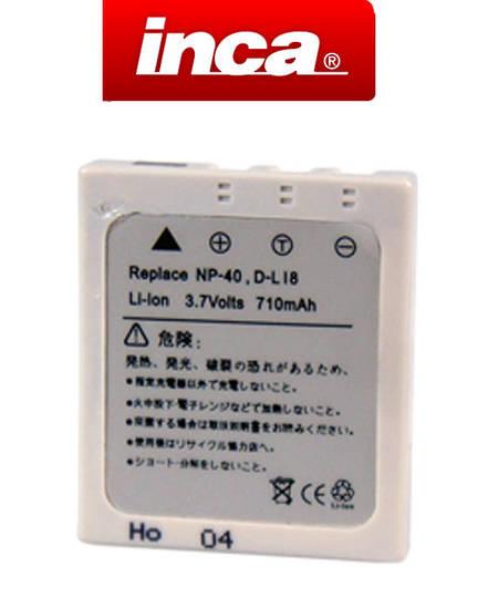 INCA FUJIFILM NP40 PENTAX D-Li8 D-Li85 KODAX KLIC-7005 Camera Battery