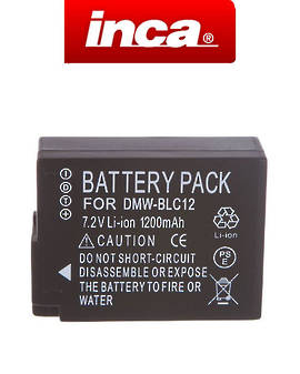 INCA PANASONIC DMW-BLC12 Camera Battery