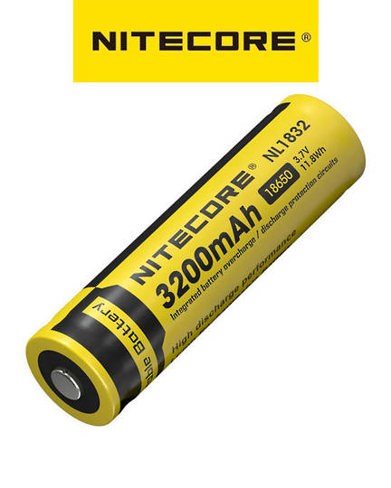 Nitecore NL1832 18650 3200mAh Battery