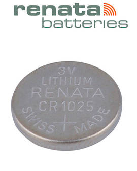 RENATA CR1025 Lithium Battery