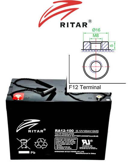 RITAR RA12-100S 12V 100AH SLA Battery