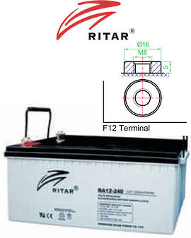 RITAR RA12-240 12V 240AH SLA Battery