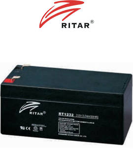 RITAR RT1232 12V 3.2AH SLA battery