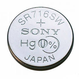 SONY 315 SR716SW Watch Button Battery