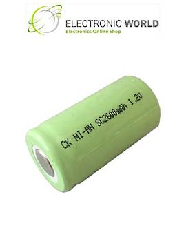 SC SUB-C Size Ni-MH Rechargeable Battery