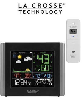 V10-TH WIFI Colour Weather Station