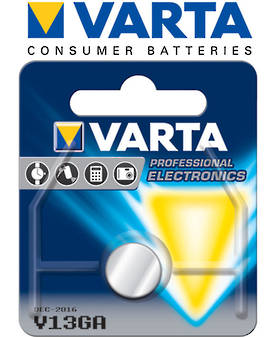 Varta LR44 V13GA AG13 Alkaline Button Battery