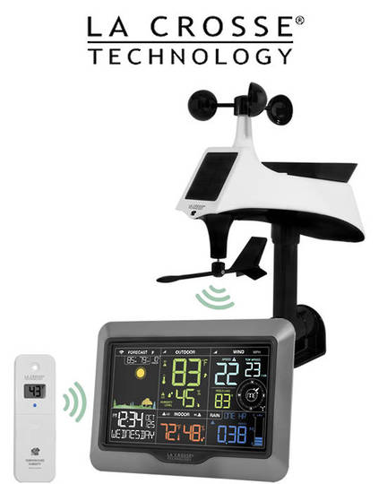 V40-PRO La Crosse WIFI Complete Colour Weather Station