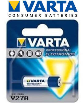 Varta High Energy LR27 (27A) 12V Alkaline Battery for Car Remote Controls