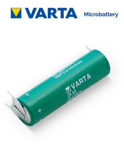 VARTA CR AA Lithium Battery with 3-Pin D+10mm
