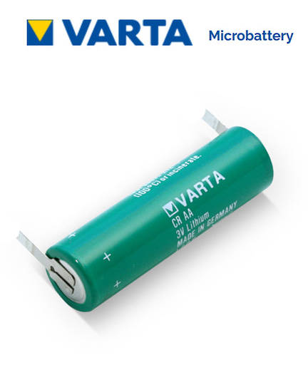 VARTA CR AA Lithium Battery with Solder Tags