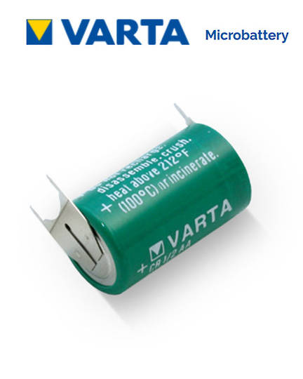 VARTA CR1/2AA Lithium Battery with 3-Pin D+10mm