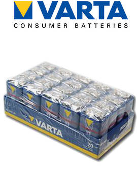 Varta High Energy 9V Alkaline 20 Pack