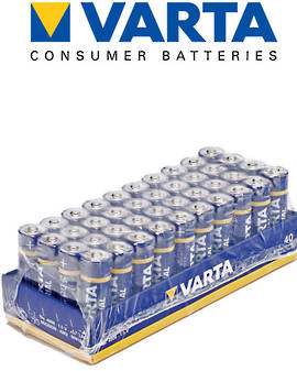 Varta High Energy AA Alkaline 40 Pack
