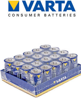 Varta High Energy D Size Alkaline 20 Pack
