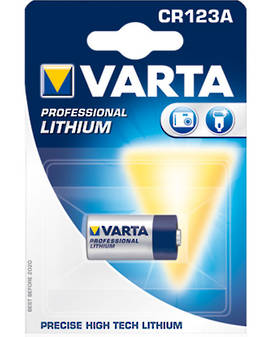 Varta CR123A Lithium Battery