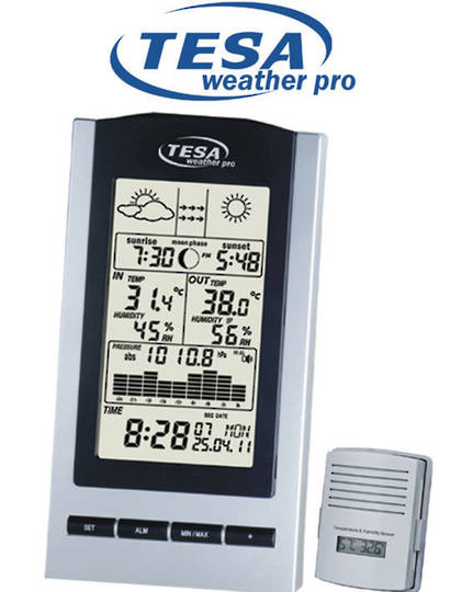 WS1151 TESA Moon Phase Weather Station